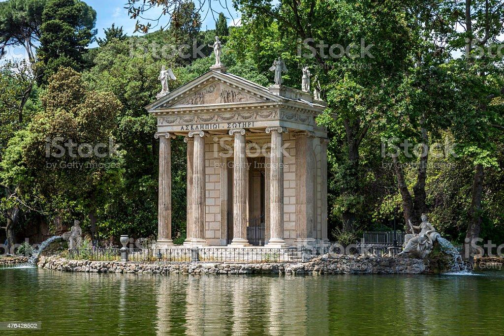 Vila Borghese stock photo
