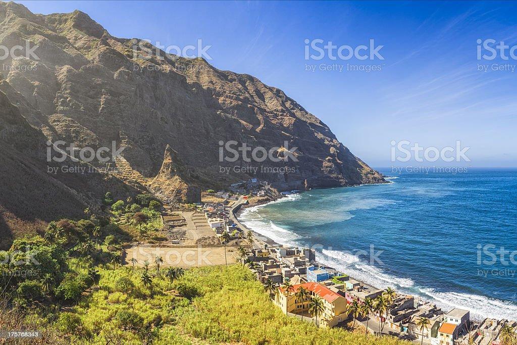 Vila das Pombas - Santo Antao , Cape Verde stock photo