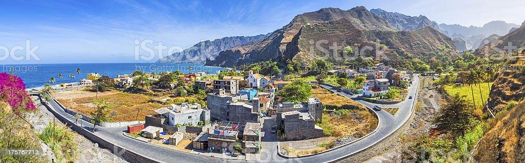 Vila das Pombas - Santo Antao (Cape Verde) royalty-free stock photo