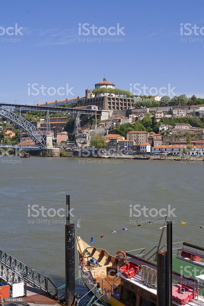 Vila Nova de Gaia stock photo