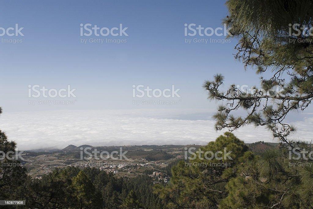 Vilaflor, Tenerife foto stock royalty-free