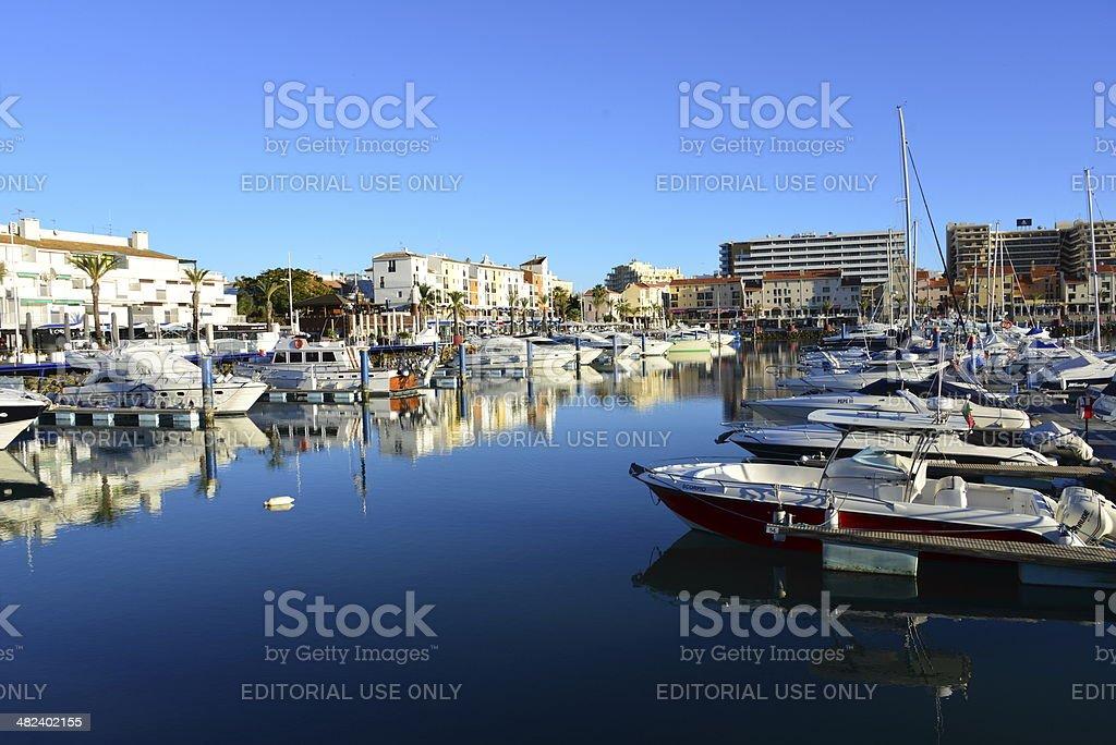 Vilamoura, Algarve, Portugal - the Marina royalty-free stock photo