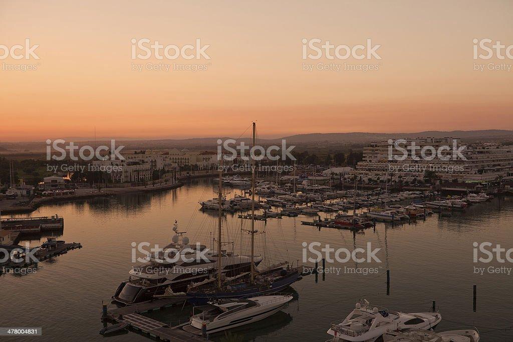 Vilamoura Marina royalty-free stock photo