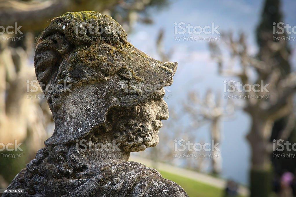 Villa Balbianello, Lake Como stock photo