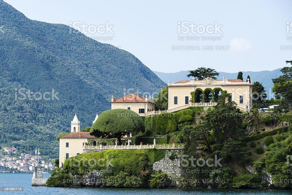 Villa Balbianello on Lake Como, Italy -XXXL stock photo