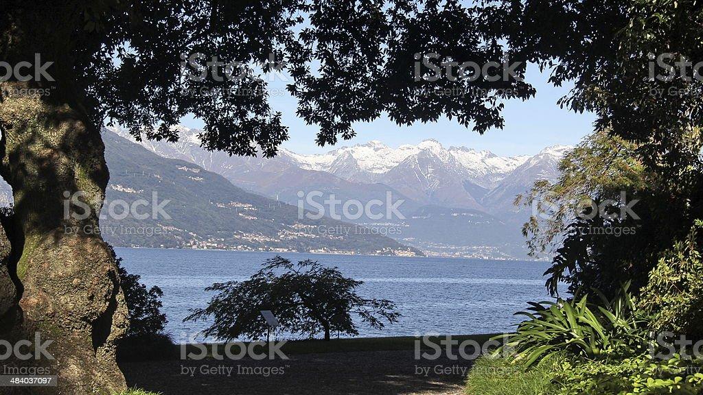 villa Balbianello stock photo