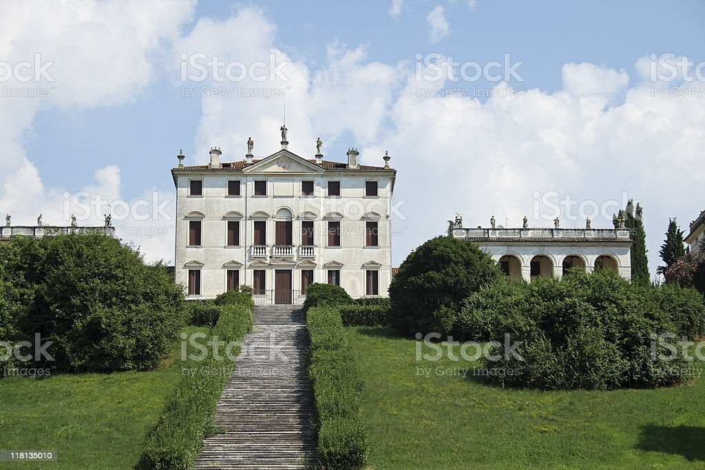 Villa Negri Piovene, Mussolente stock photo