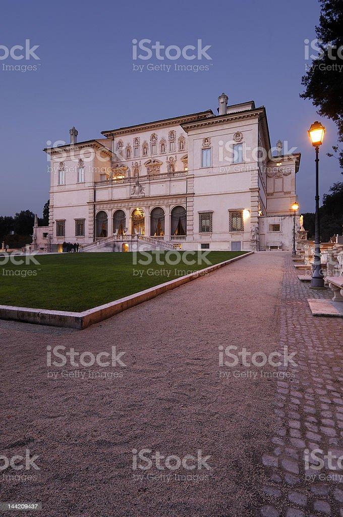 Villa Borghese royalty-free stock photo