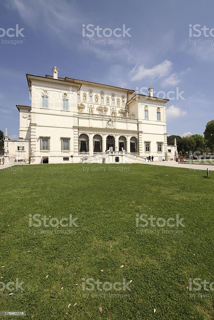 Villa Borghese stock photo