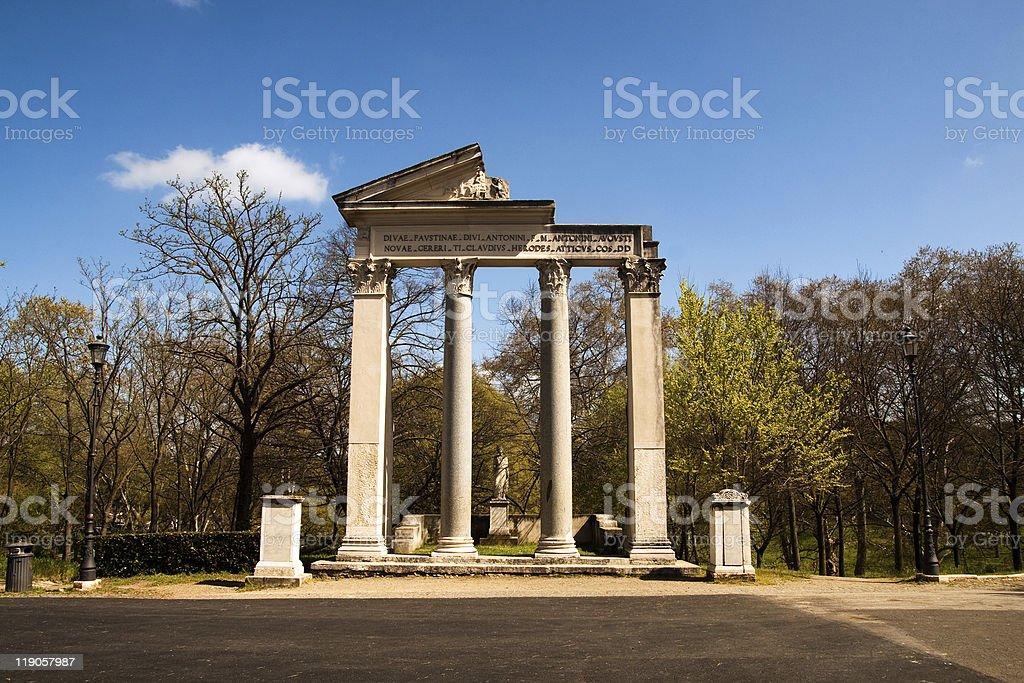 Villa Borghese, Rome stock photo