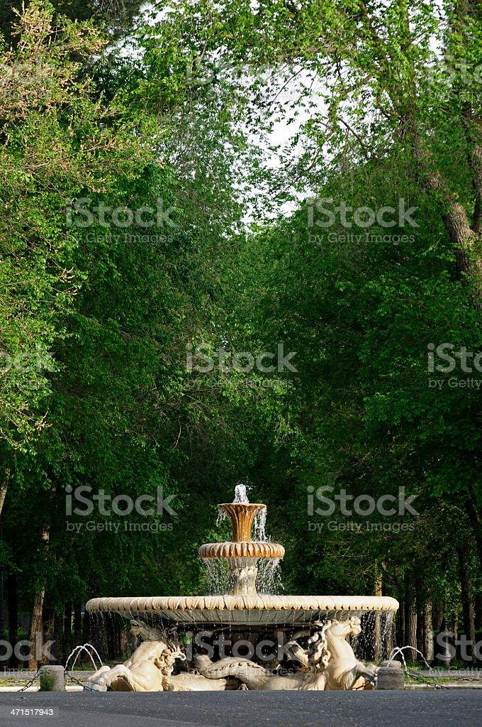 Villa Borghese - Rome royalty-free stock photo