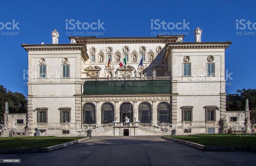 Villa Borghese (Galleria Borghese), Rome stock photo