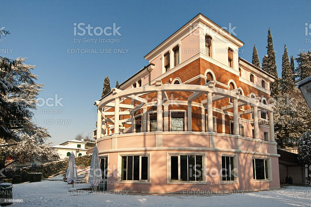 Villa Brusarosco in Arzignano. Vicenza. Italy. stock photo