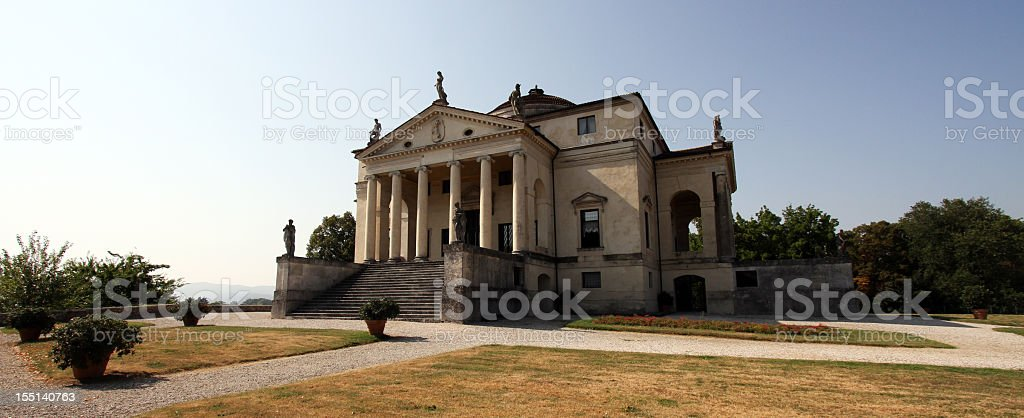 Villa Capra 'La Rotonda'. stock photo