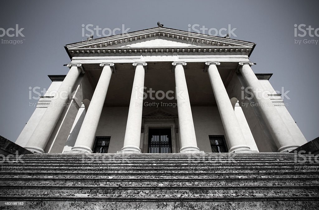 Villa Capra 'La Rotonda' stock photo