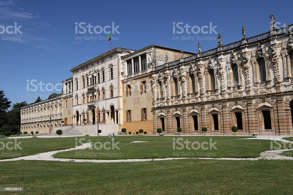 Villa Contarini - Camerini stock photo