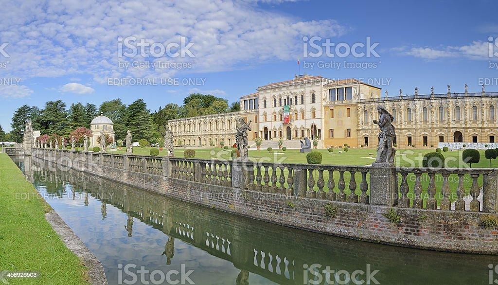 Villa Contarini (Piazzola - PD) stock photo