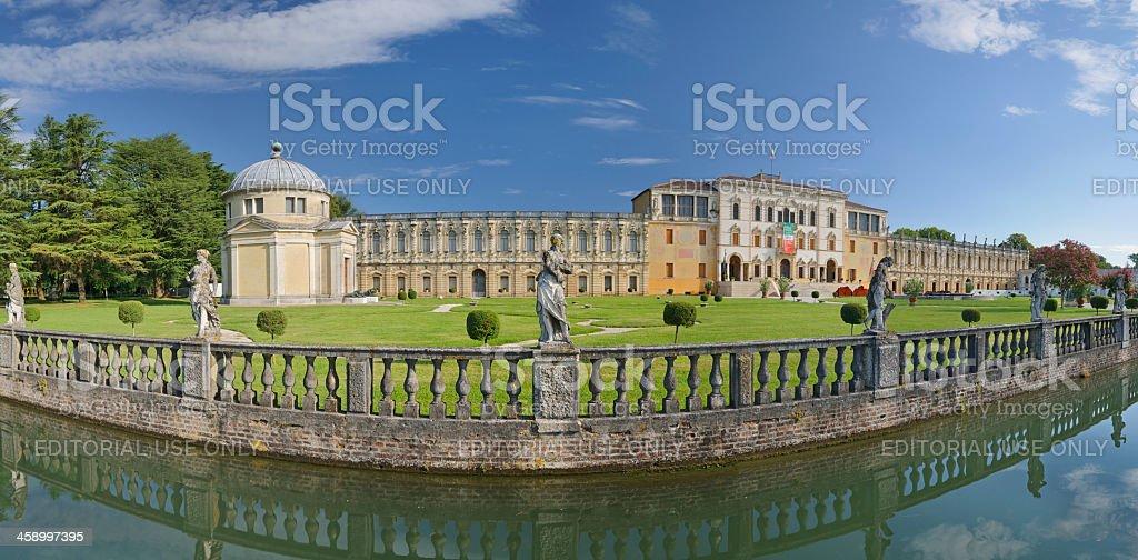 Villa Contarini (Padua - Italy) stock photo