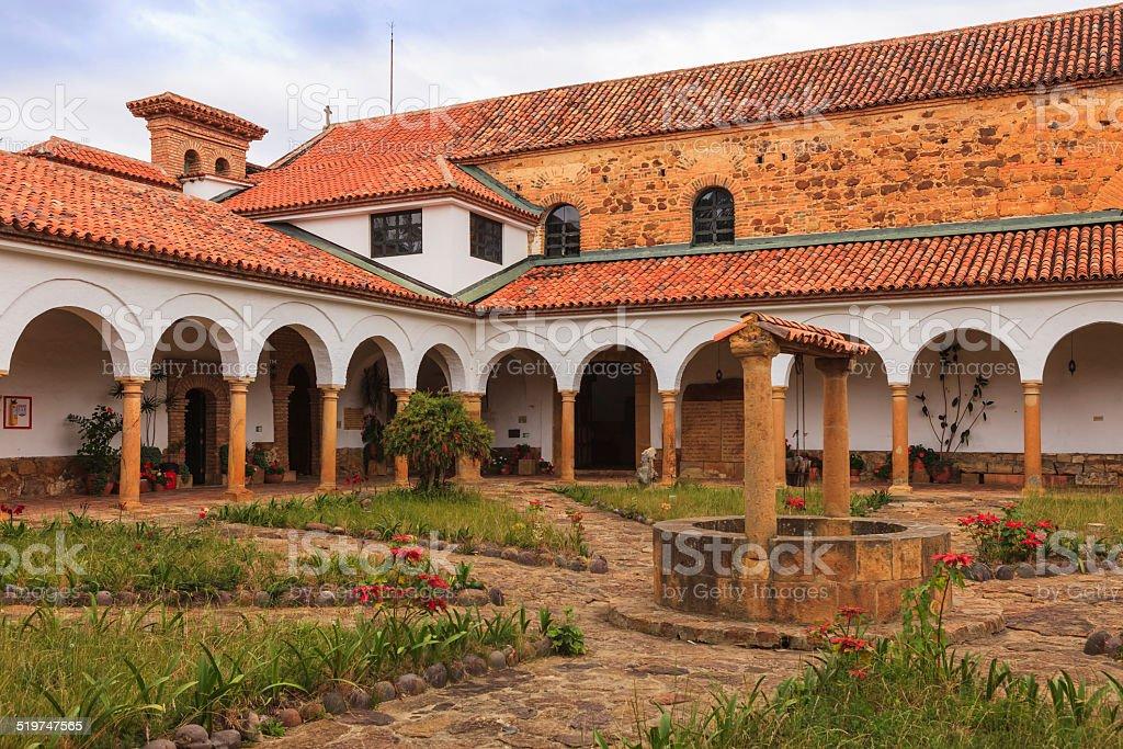 Villa de Leyva, Colombia - Monastary Santo Ecce Homo stock photo
