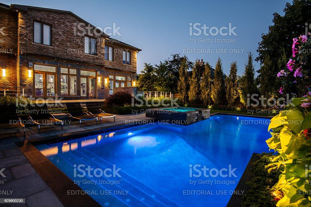 Villa De Toronto Exterior stock photo