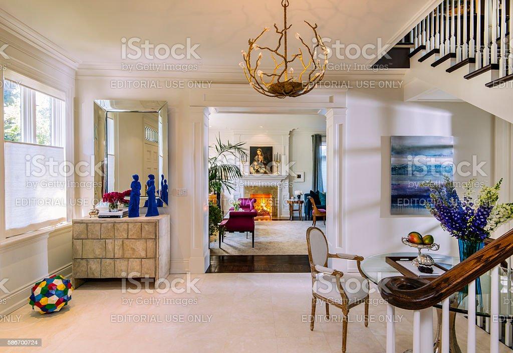 Villa De Toronto stock photo