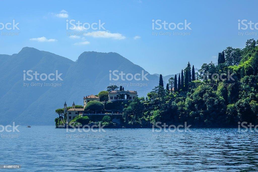 Villa del Balbianello, Lenno - Italy stock photo