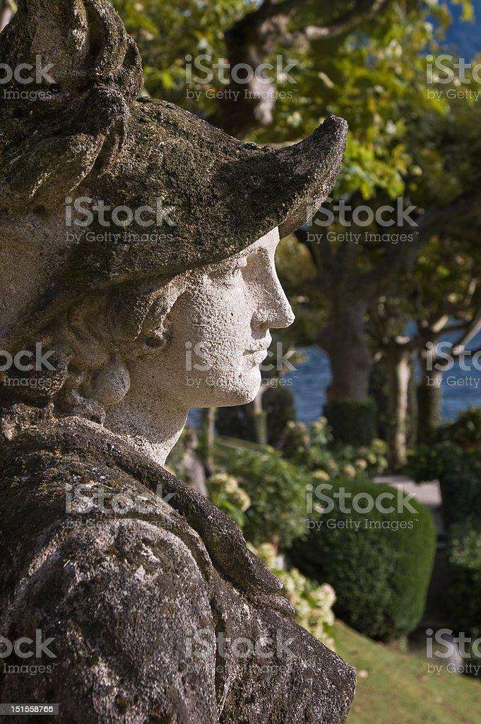 Villa del Balbianello (Lake Como) stock photo