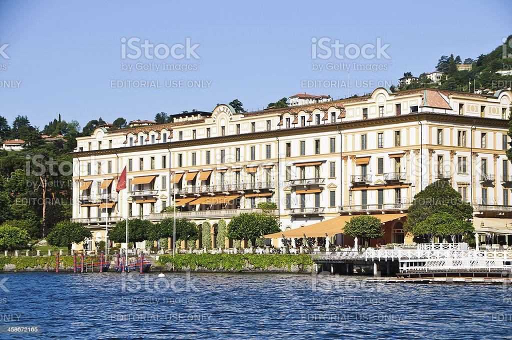 Villa D'Este stock photo