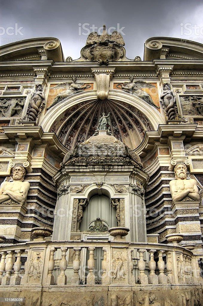 Villa d'Este, Tivoli, Italy royalty-free stock photo