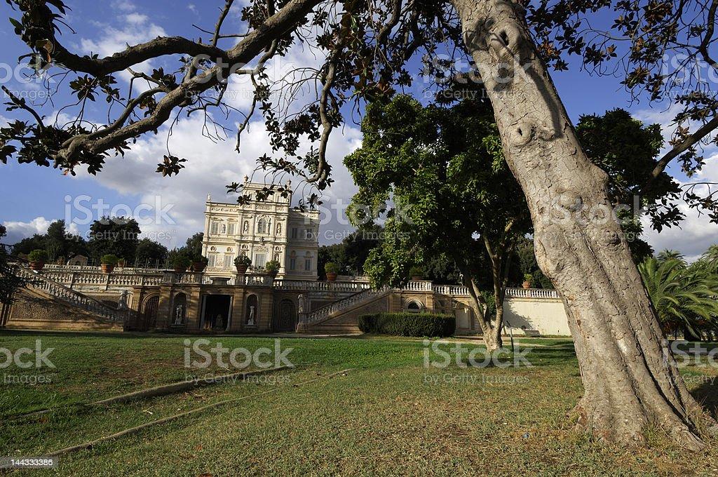 Villa Doria Pamphili royalty-free stock photo