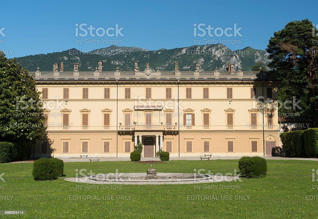 Villa Giulia at Bellagio (Como) stock photo
