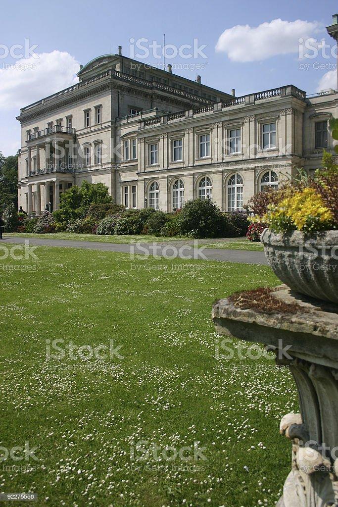 Villa Hügel royalty-free stock photo