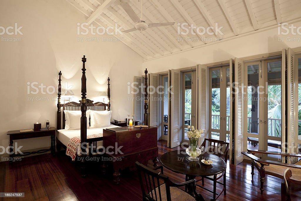 villa hotel room royalty-free stock photo