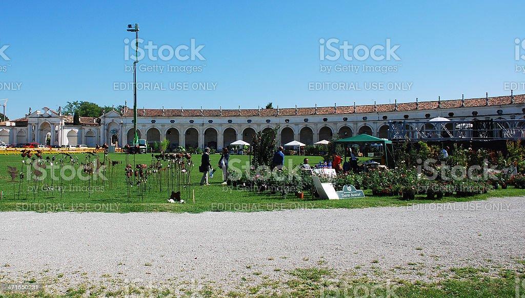 Villa Manin During Floreal royalty-free stock photo