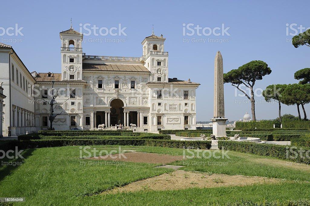 Villa Medici stock photo