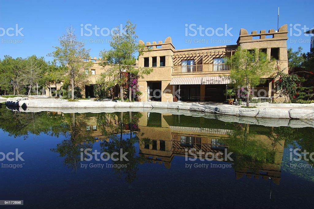villa royalty-free stock photo