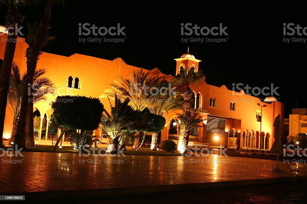 Villa Resort stock photo