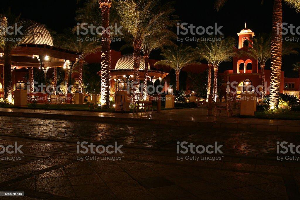 Villa Resort royalty-free stock photo