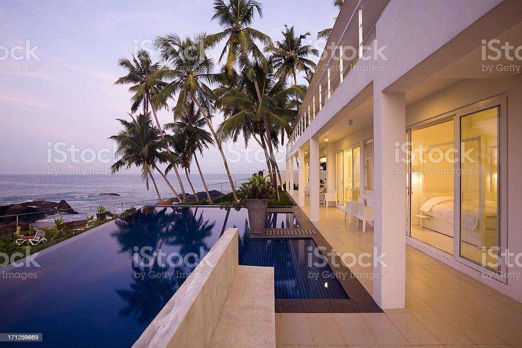 villa sri lanka royalty-free stock photo