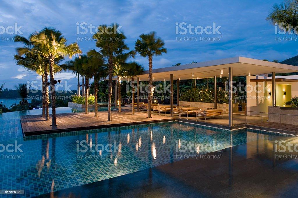 Villa Sunrise stock photo