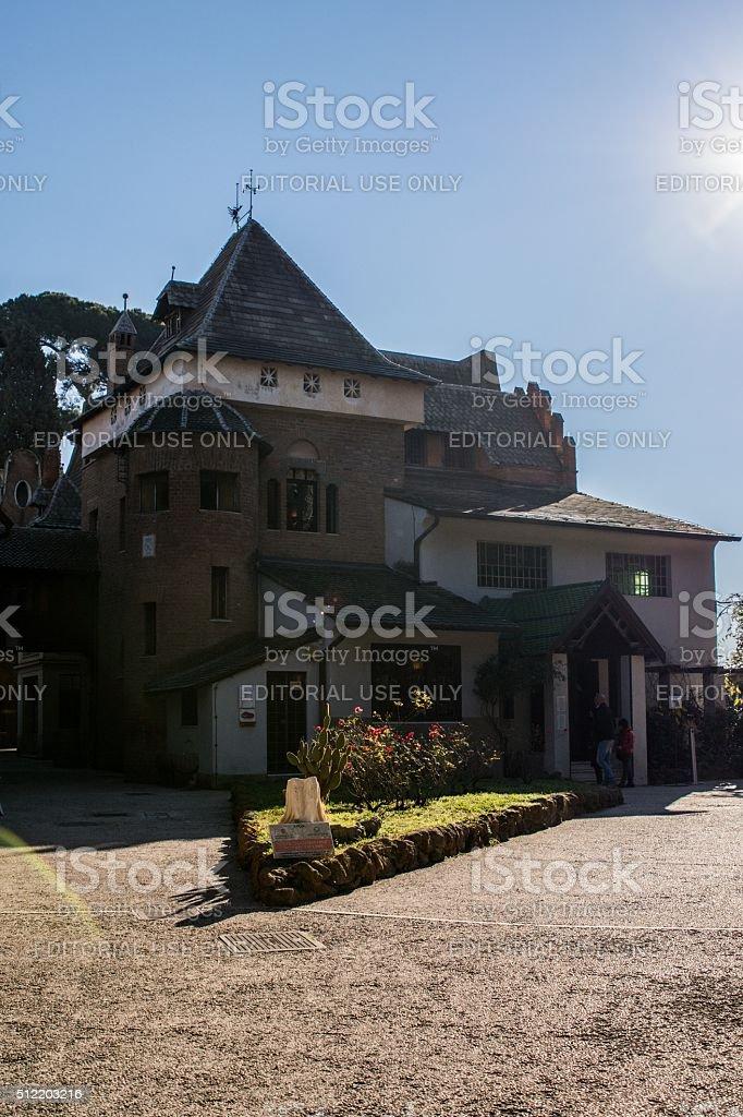 Villa Torlonia, Casina delle Civette - Roma stock photo