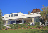 Villa Tugendhat, the historical building in Brno
