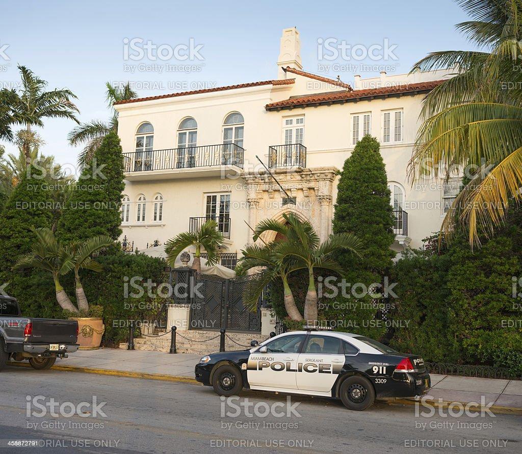 Villa Versace 'Casa Casuarina', Ocean Drive, Miami stock photo