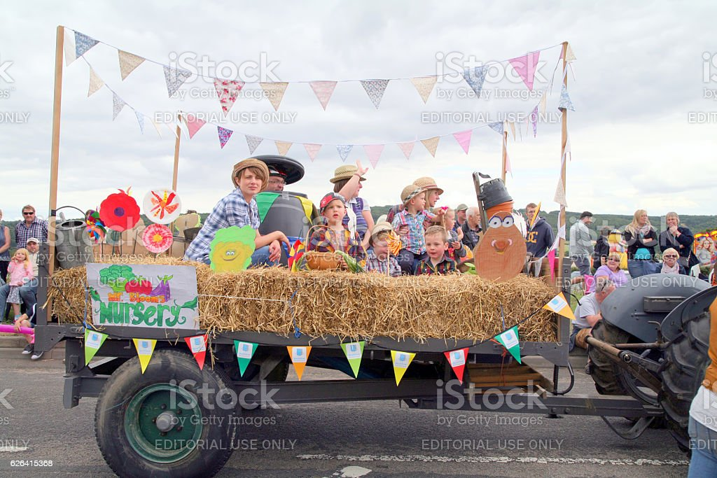 Village Carnival. stock photo