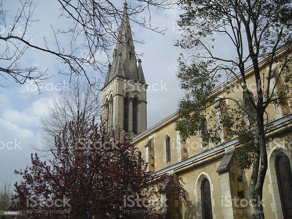 Village Church royalty-free stock photo