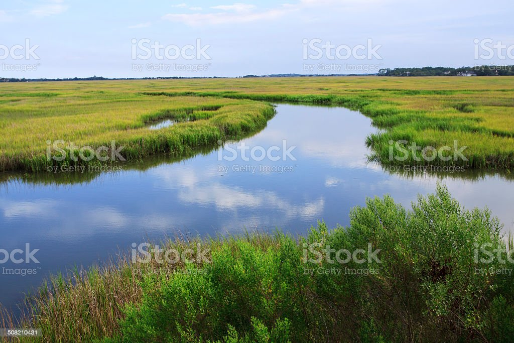 Village Creek stock photo