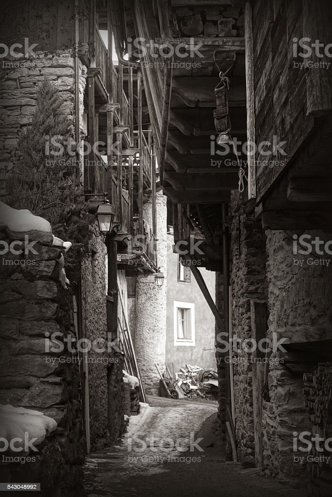 Village de France stock photo