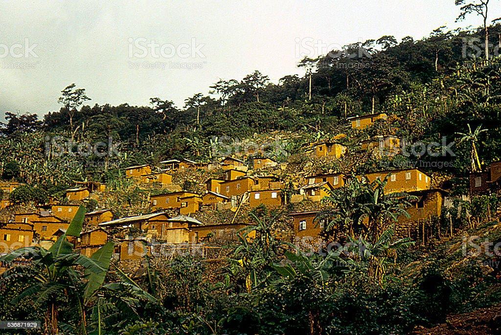 village du Togo stock photo
