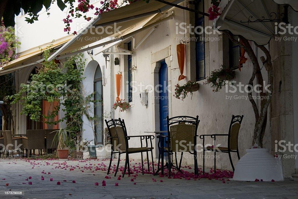 village house on Kos Greece royalty-free stock photo
