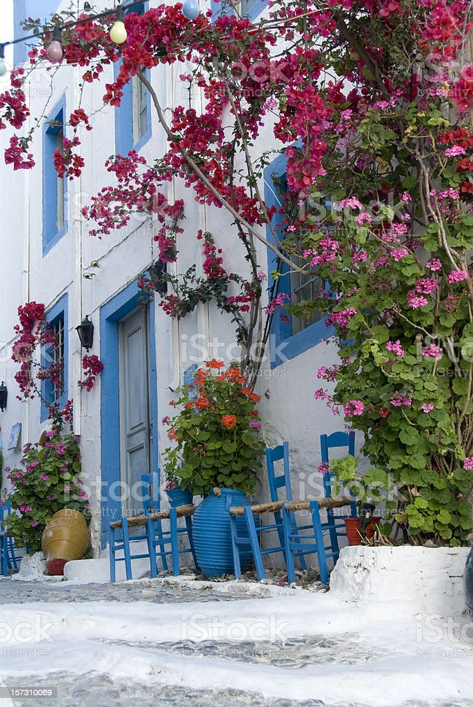 village house on the island of Kos Greece royalty-free stock photo